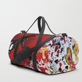 Abstract Field of Flowers - Vulpecula Duffle Bag