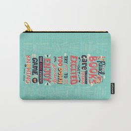 Read Books Carry-All Pouch