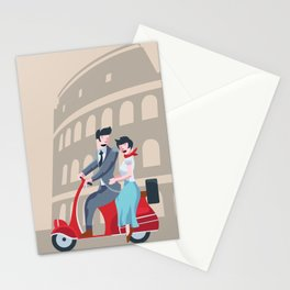 Roman Holiday Stationery Cards