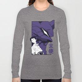 Evangelion eva01 shinji Long Sleeve T-shirt
