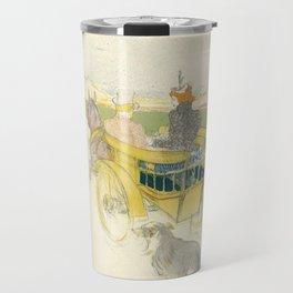 """Henri de Toulouse-Lautrec """"Partie de Campagne"""" Travel Mug"""
