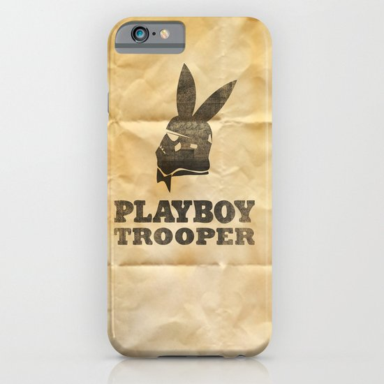 playboy trooper  iPhone & iPod Case