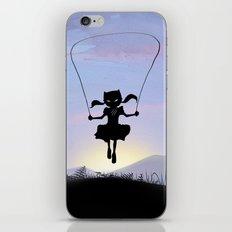 Cat Kid iPhone & iPod Skin