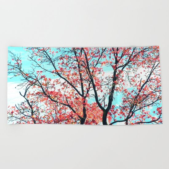Here and Now Beach Towel