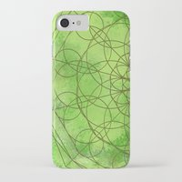 chakra iPhone & iPod Cases featuring HEART CHAKRA  by NioviSakali
