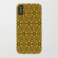 damask iPhone & iPod Cases featuring vintage damask by clemm