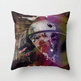 """""""Night Rescue"""" Throw Pillow"""