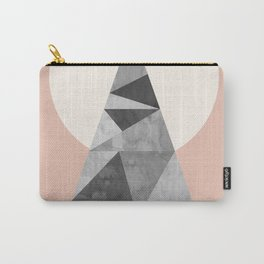 Watercolor of minimalist stones III Carry-All Pouch
