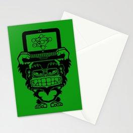 Ikari Monkey Neural Network Trainer Stationery Cards