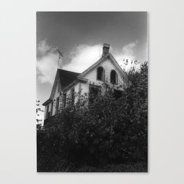 House but Not a Home Canvas Print