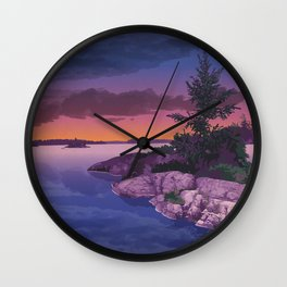 French River Provincial Park Wall Clock