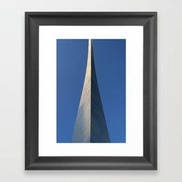 St. Louis Arch Framed Art Print