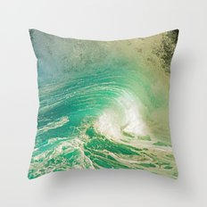 WAVE JOY Throw Pillow