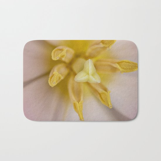 Inside a Tulip Bath Mat