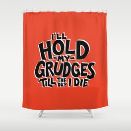 Ugly Thought No 1 Shower Curtain