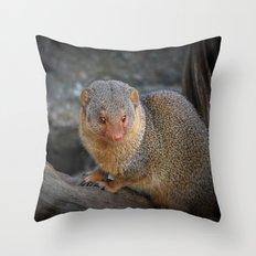 Manguste Throw Pillow