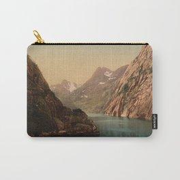 """""""Lofoten Trollfjord Norway"""" Carry-All Pouch"""
