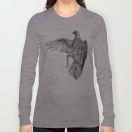 Pigeon Dissection Long Sleeve T-shirt