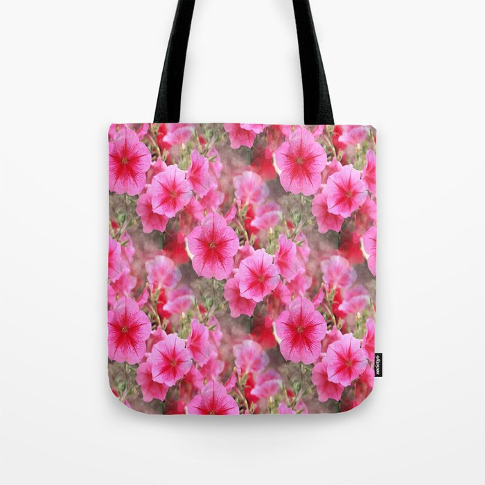 Love of Petunias.... Tote Bag