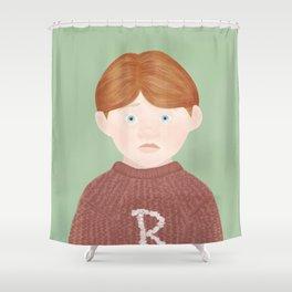 ron weasley Shower Curtain