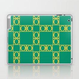 angle yellow & green Laptop & iPad Skin