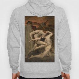 DANTE AND VIRGIL - WILLIAM-ADOLPHE BOUGUEREAU Hoody