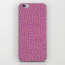 Bubblegum Maze iPhone Skin