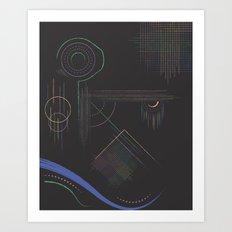 Dream Diagram Art Print