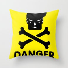 The Dangers of Donald Trump Throw Pillow