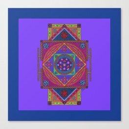 Just Another Roll of the Dice (Blue) Canvas Print