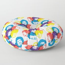 Hendrix Pattern Floor Pillow