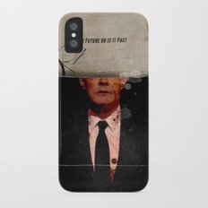 Twin Peaks | Is It Future or is It Past iPhone X Slim Case