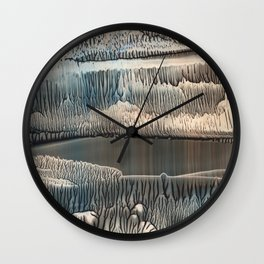 Ventura - Nickel Wall Clock