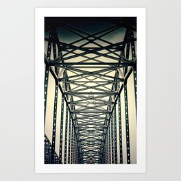 life is a journey . Art Print