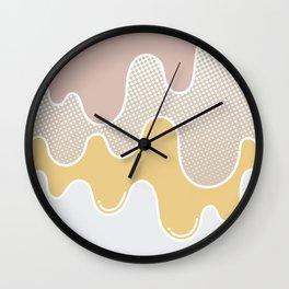 SALTED CARAMEL Wall Clock
