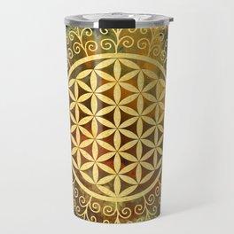 Flower Of Life (Batik 11) Travel Mug
