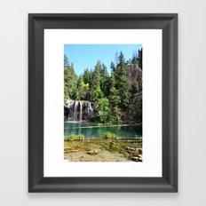 Hanging Lake Framed Art Print