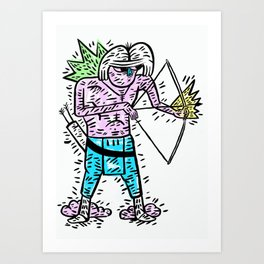 Arrow head Art Print