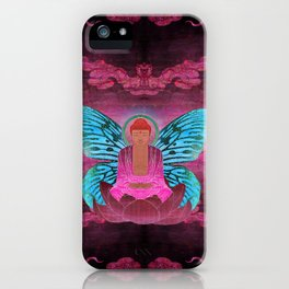 buddherfly #1 iPhone Case
