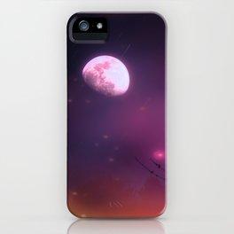 Celestial Moon iPhone Case