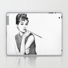 Audrey Hepburn Breakfast at Tiffanys Laptop & iPad Skin