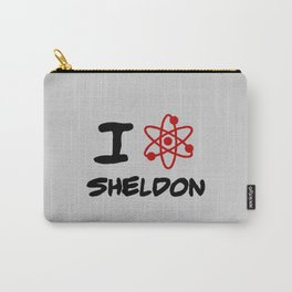 I love Sheldon Carry-All Pouch