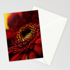 Red Gerbera Stationery Cards