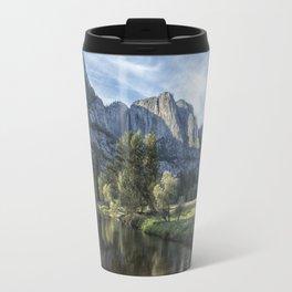 Yosemite Falls from Cook's Meadow Travel Mug