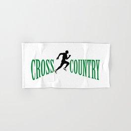 Cross country Hand & Bath Towel