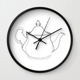 """ Kitchen Collection "" - Tea pot Wall Clock"