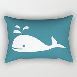 Nautical Whale Rectangular Pillow