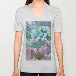 Succulent in the Sand Unisex V-Neck