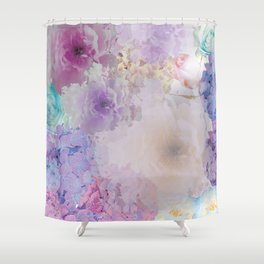 STOP FLOATING AROUND (PINK) Shower Curtain