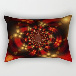 Christmas-Fractal Rectangular Pillow